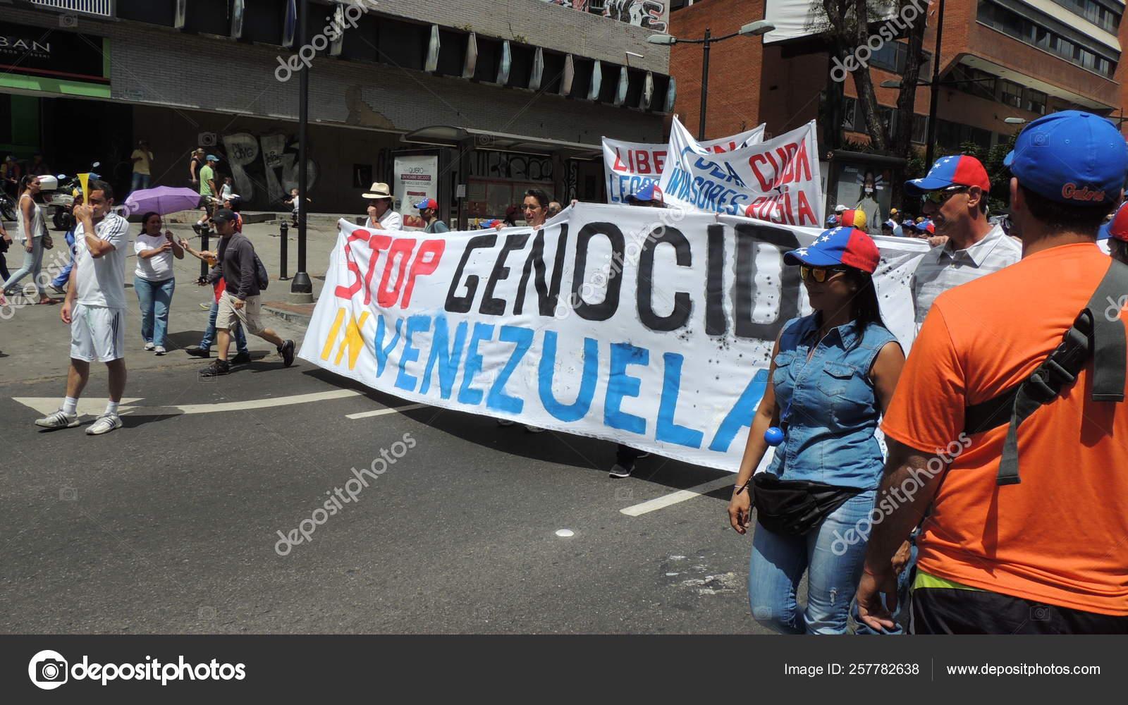 Protest Freedom Venezuela Communism Socialism Students People