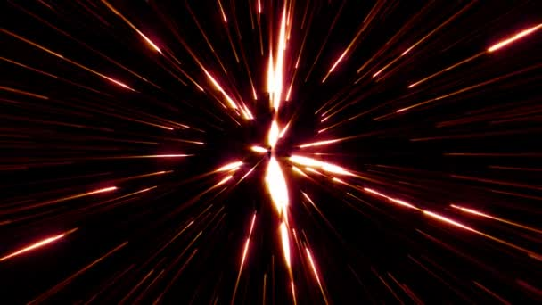 Abstract Stars Burst Trail (loop) 2D animation