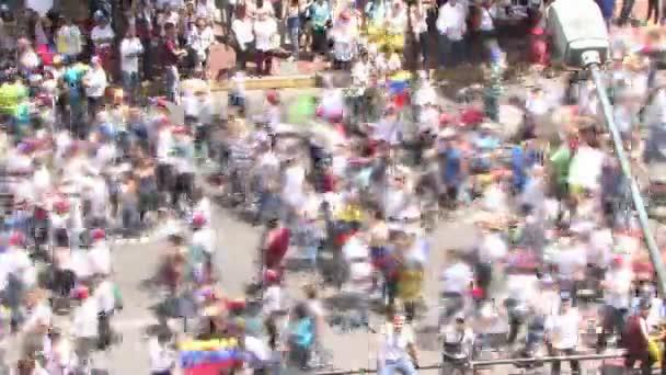 Protest for freedom in Venezuela, Against communism, Against socialism. Caracas Venezuela circa 2016 Protest for freedom in Venezuela. large crowd