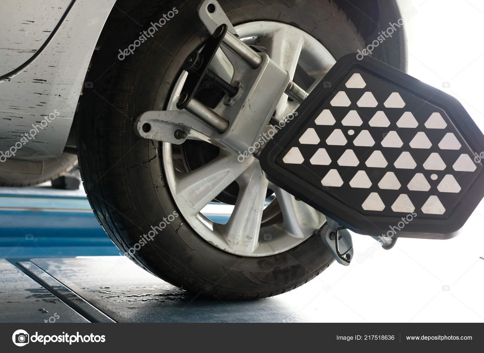 Car Tyre Clamped Aligner Reflector Adjustment Tool Wheel