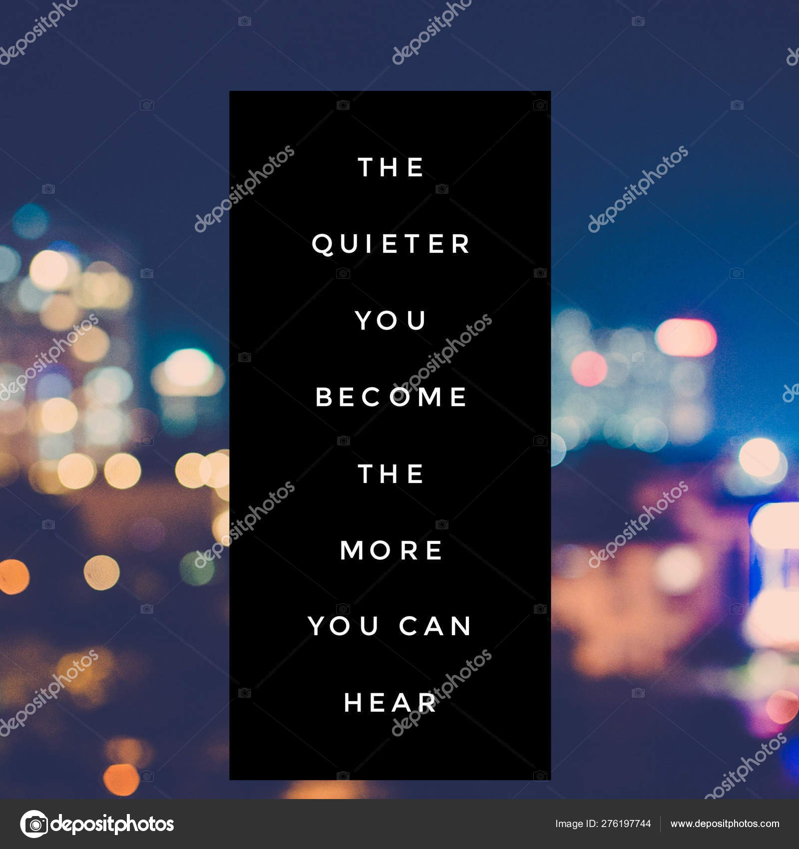 Inspirational Quote Best Motivational Quotes Sayings Life Wisdom Positive Uplifting Stock Photo C Addy Dude 276197744