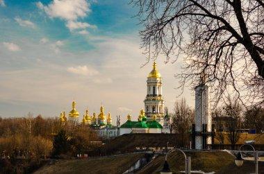 View of the Kiev-Pechersk Lavra in Kyiv