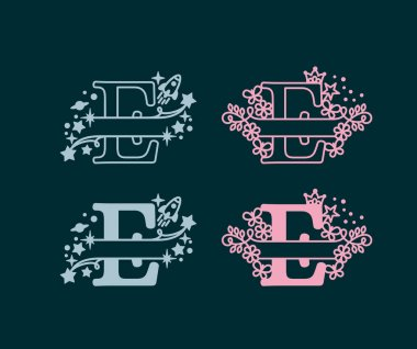 Alphabet Split Monogram Premium Vector Download For Commercial Use Format Eps Cdr Ai Svg Vector Illustration Graphic Art Design