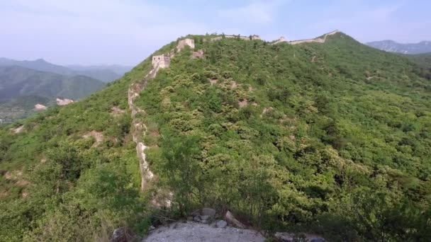 Unrestored section of the Great Wall of China, Zhuangdaokou, Beijing, China