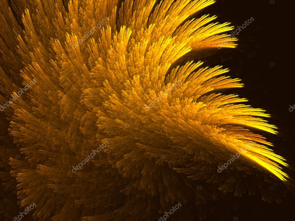 Fractal  abstract background, futuristic texture