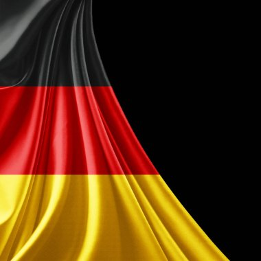 Flag of Germany  with copy space for your text  - 3D illustration