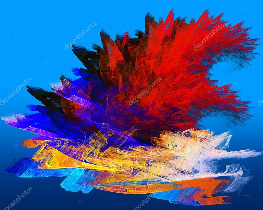 fractal fantasy, futuristic texture
