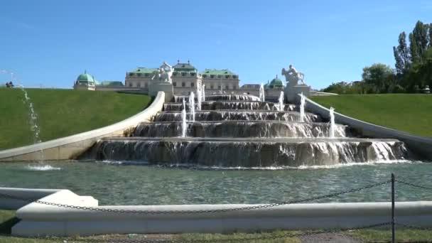 Wiener Belvedere-Brunnen Zeitlupe