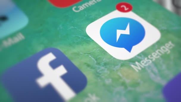 Facebook Messenger. A smartphone app értesítések