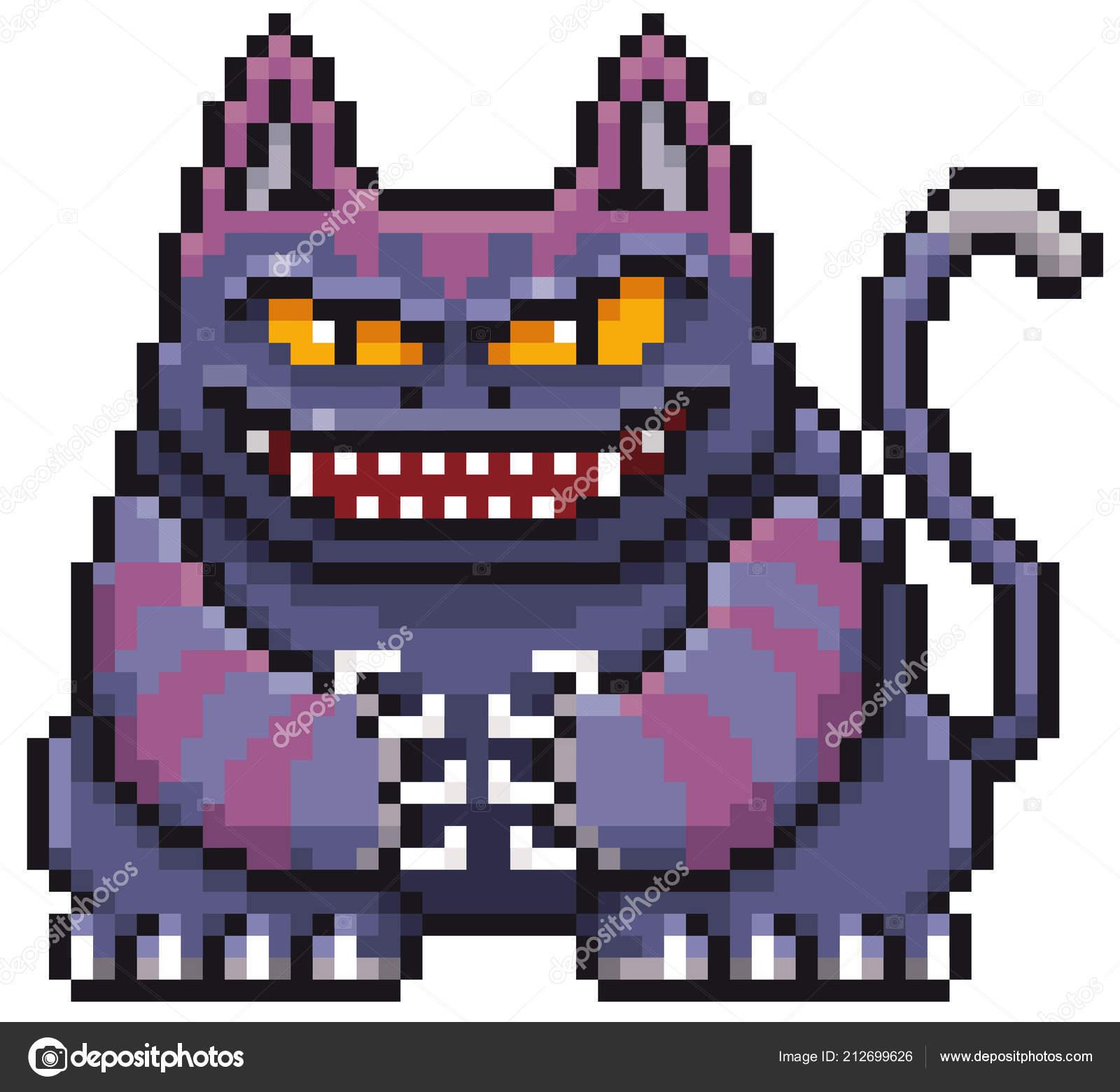 Illustration Vecteur Dessin Animé Monster Chat Conception