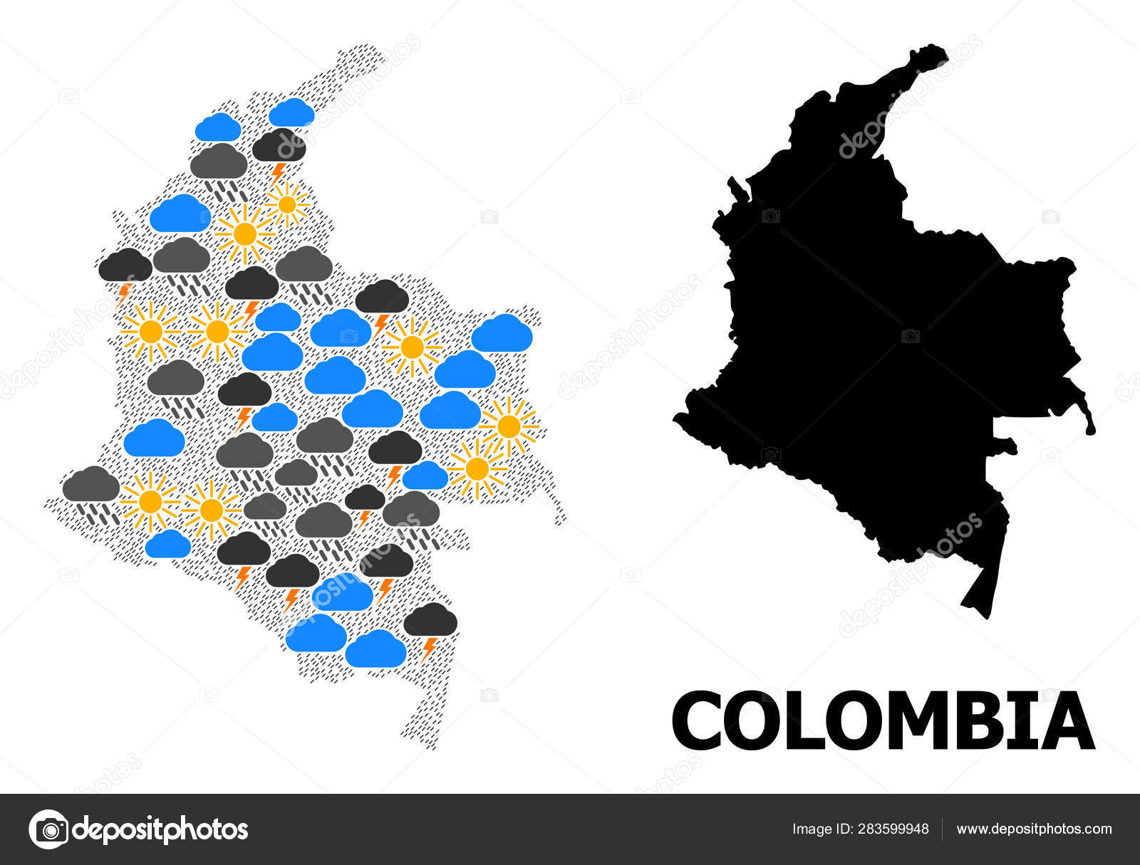 Climate Mosaic Map of Colombia — Stock Vector ... on climate map of americas, climate map of saint lucia, climate map of bahamas, climate map of the world, climate map of trinidad and tobago, climate map of vanuatu, climate map of netherlands, climate map of malaysia, climate map of united arab emirates, climate map of malawi, climate map of burundi, climate map of togo, climate map of lesotho, climate map of guinea, climate map of slovenia, climate map of andes, climate map of moldova, climate map of qatar, climate map of senegal, climate map of lebanon,