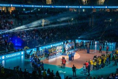 Voleybol Kupası Finali Mannheim SAP Arena 'da