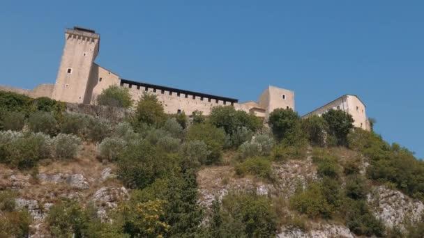 Rocca Albornoziana (Arbonoz Fortress), Spoleto, Umbria, Italy