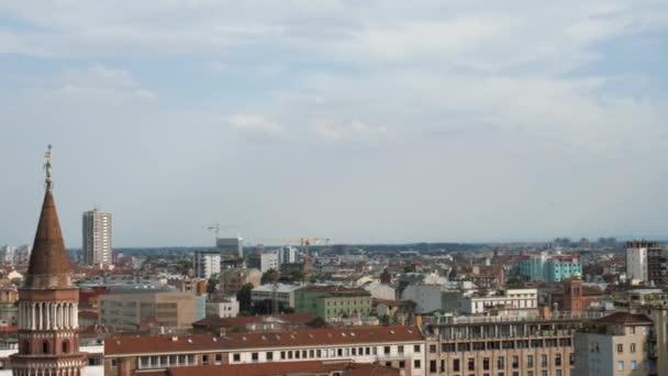 Milano, Italia: Panorama girato Torre Velasca vista panoramica Torre