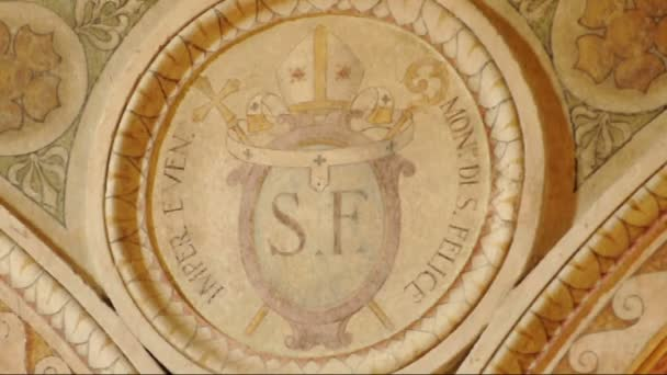 Szoros, fejdísz, San Felice kolostor Pavia, Pv, Olaszország