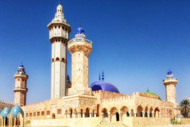 The Great Mosque, Touba, Senegal, West Africa