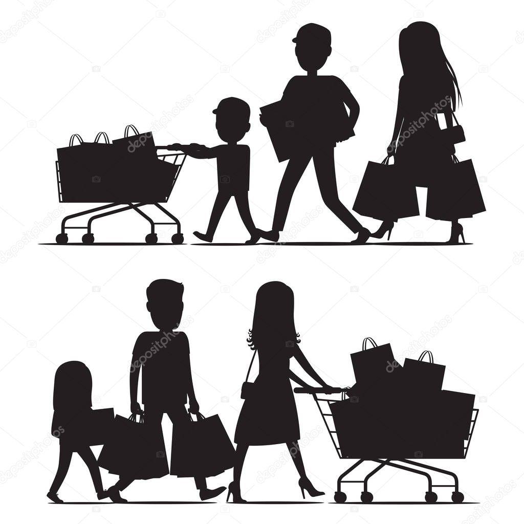Children Walking Together Stock Illustration - Download Image Now - iStock