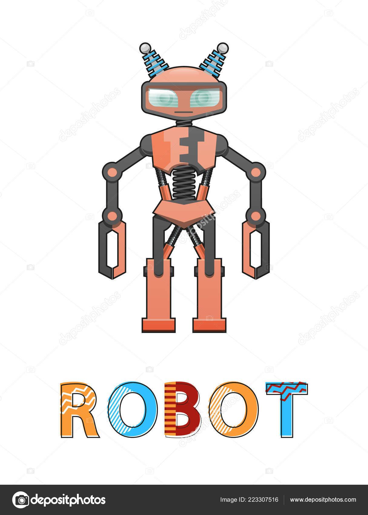 Robot Cyborg humanoïde affiche Illustration vectorielle– illustration de  stock 1eccc0dc7d76