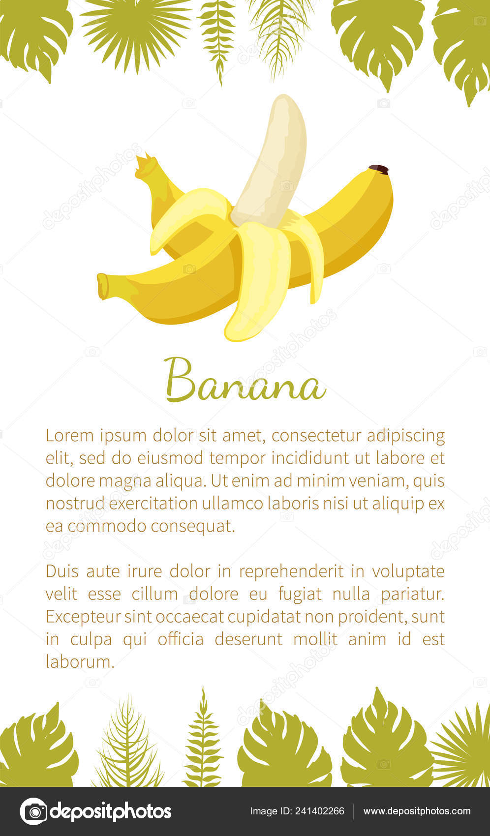 Banana tessuto in pezza Tropic FRUIT Vivid