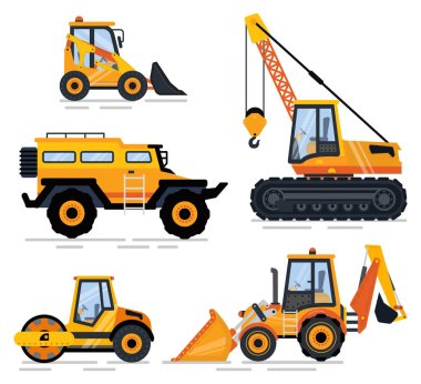 Construction Equipment and Machinery, Transport