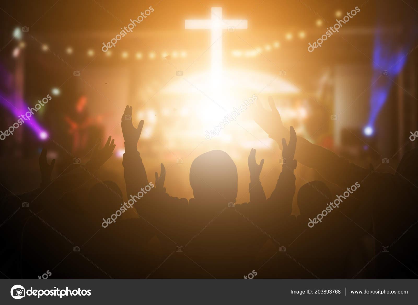 church offering prayer - HD5847×3898