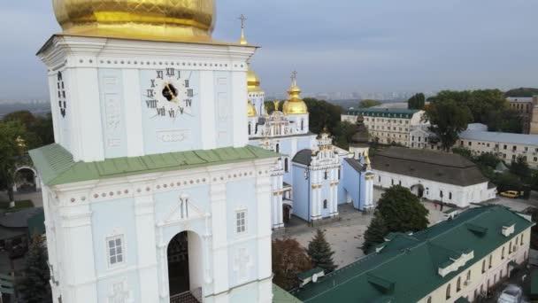 Das St. Michaels Golden-Domed-Kloster in Kiew, Ukraine. Zeitlupe, Kiew