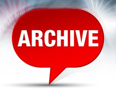Archive Red Bubble Background