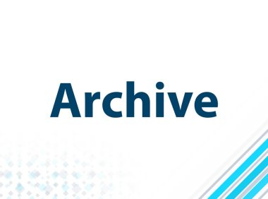 Archive Modern Flat Design Blue Abstract Background