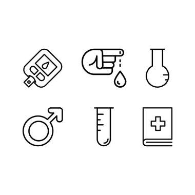 Cardiac Health Medical Icon Design icon