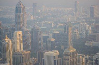 Bangkok Metropolitan Building Air pollution PM25 negatively impa