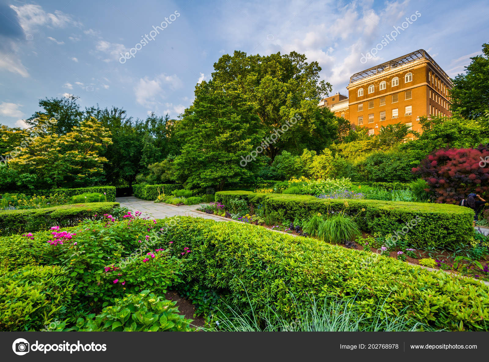 conservatory garden central park manhattan new york city stock photo - Central Park Conservatory Garden
