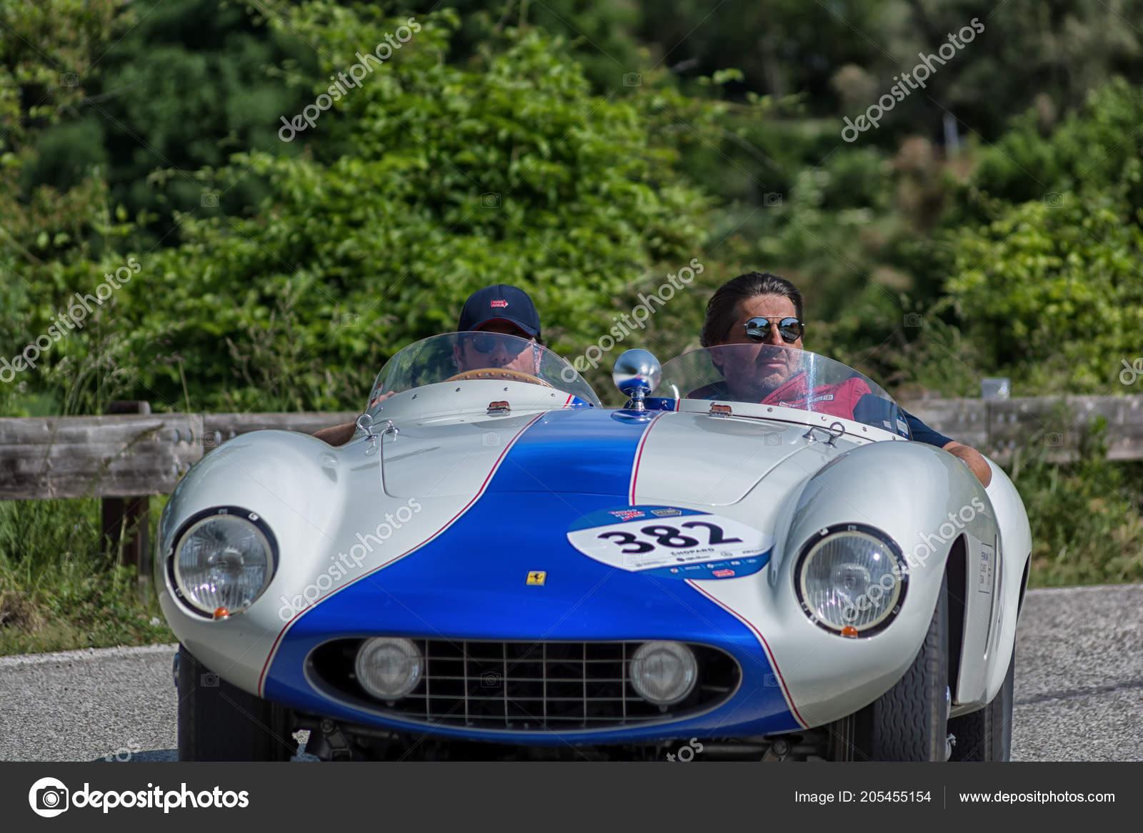 Pesaro Colle San Bartolo Italy May 2018 Ferrari 750 Monza Stock Editorial Photo C Massimocampa 205455154