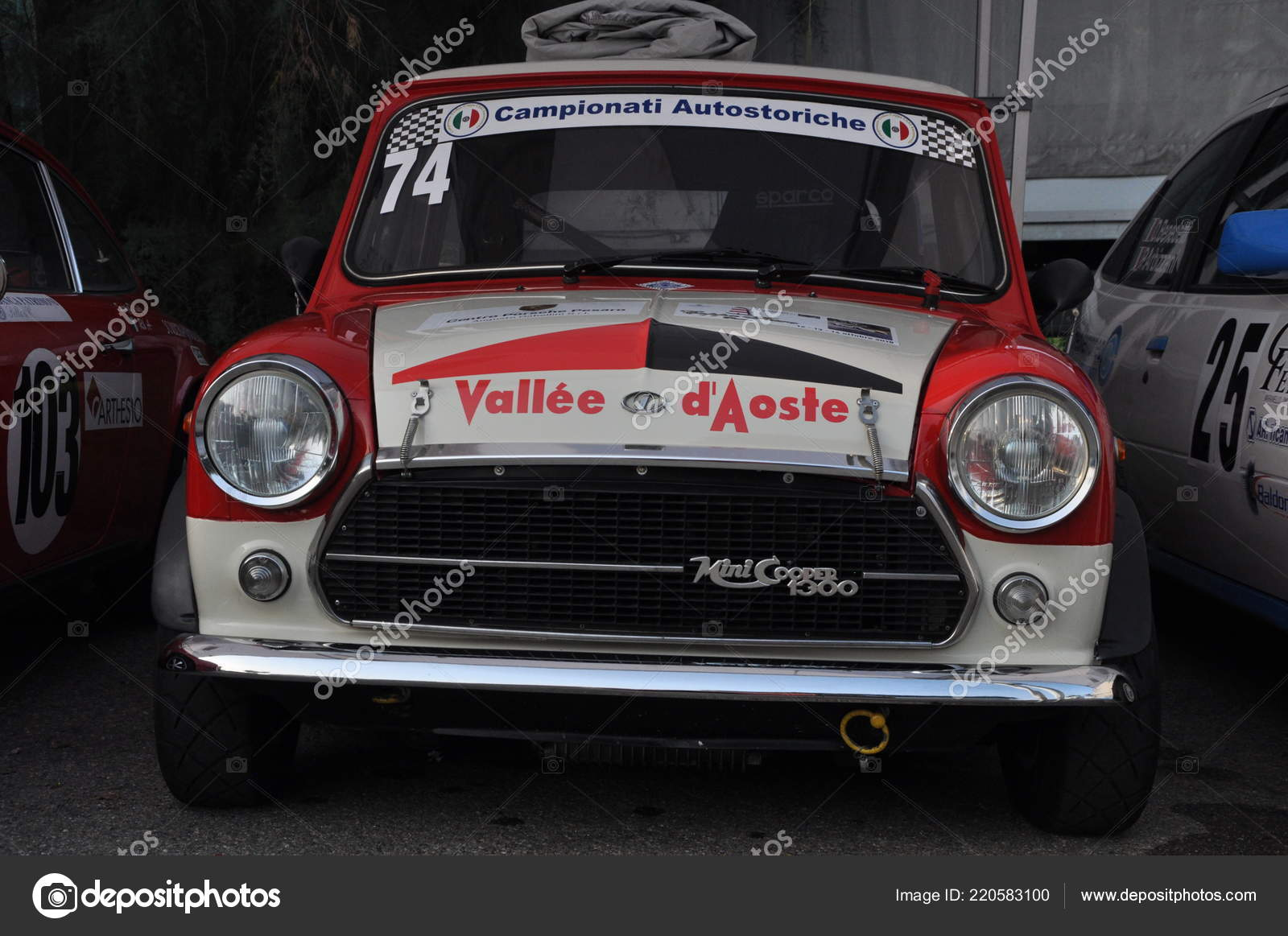 Pesaro Italy Ott 2018 Morris Mini Cooper First Edition Race Stock