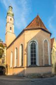 Fotografie Blick auf die Dreifaltigkeitskirche in Straubing