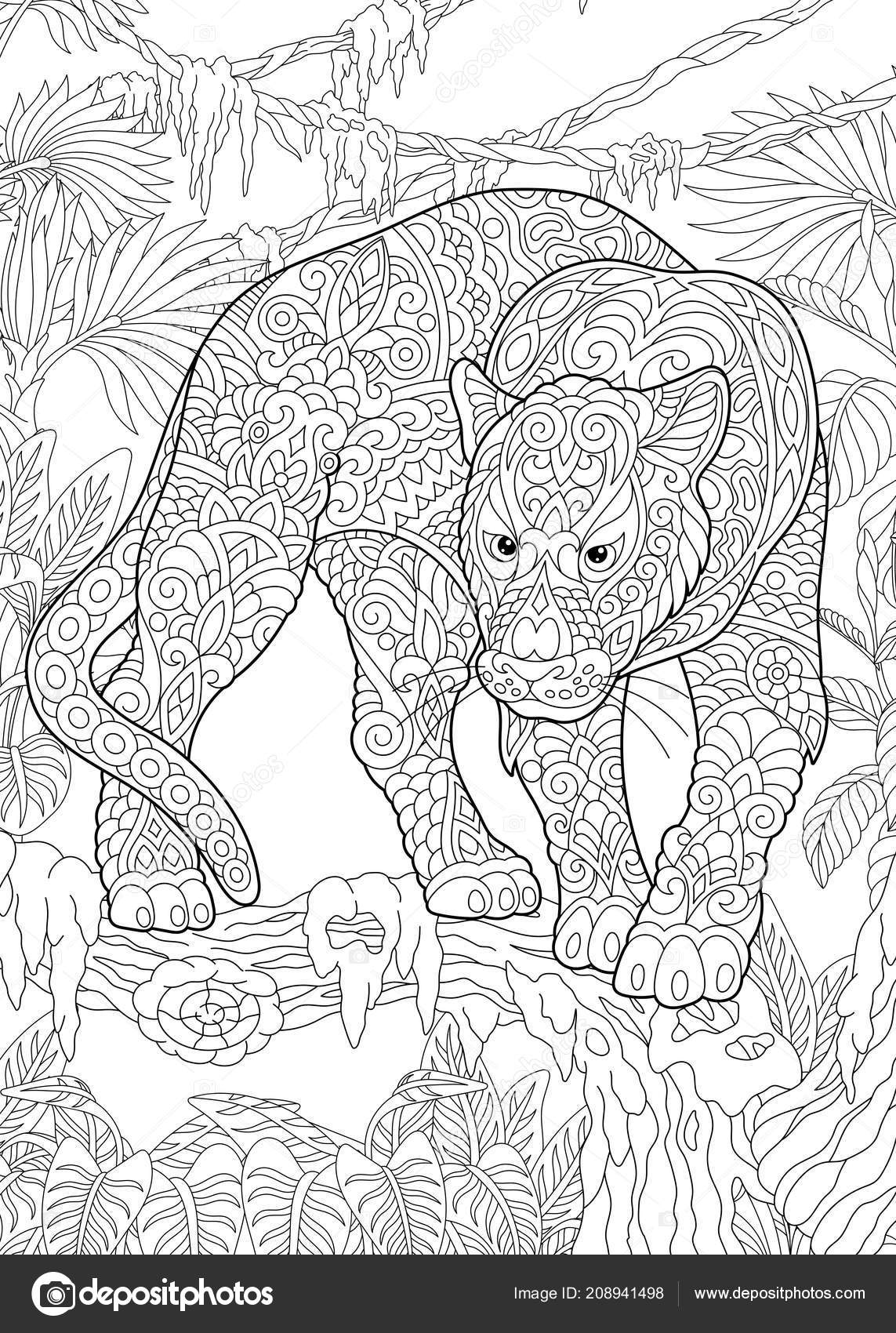 Coloriage De Black Panther.Coloriage Livre Coloriage Photo Coloration Avec Black