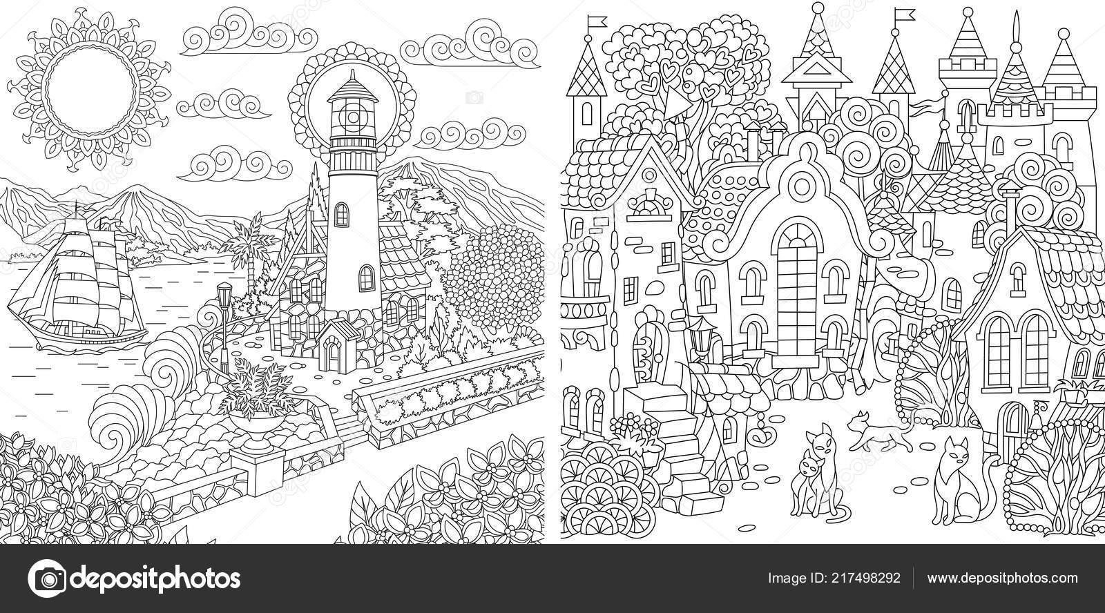 Dibujos Para Colorear Libro Para Colorear Para Adultos Colorear