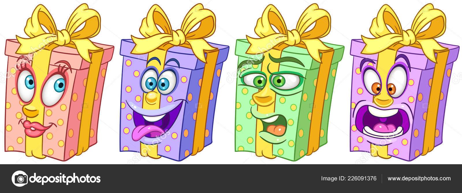 Contenitore regalo regali compleanno concetto celebrazione festa
