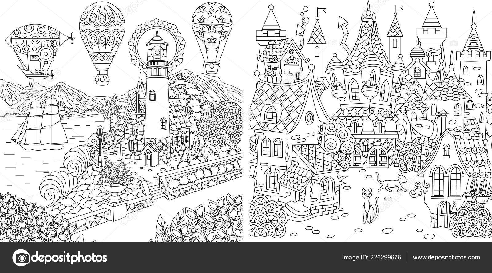 - Lighthouse Coloring Pages Coloring Pages Coloring Book Adults