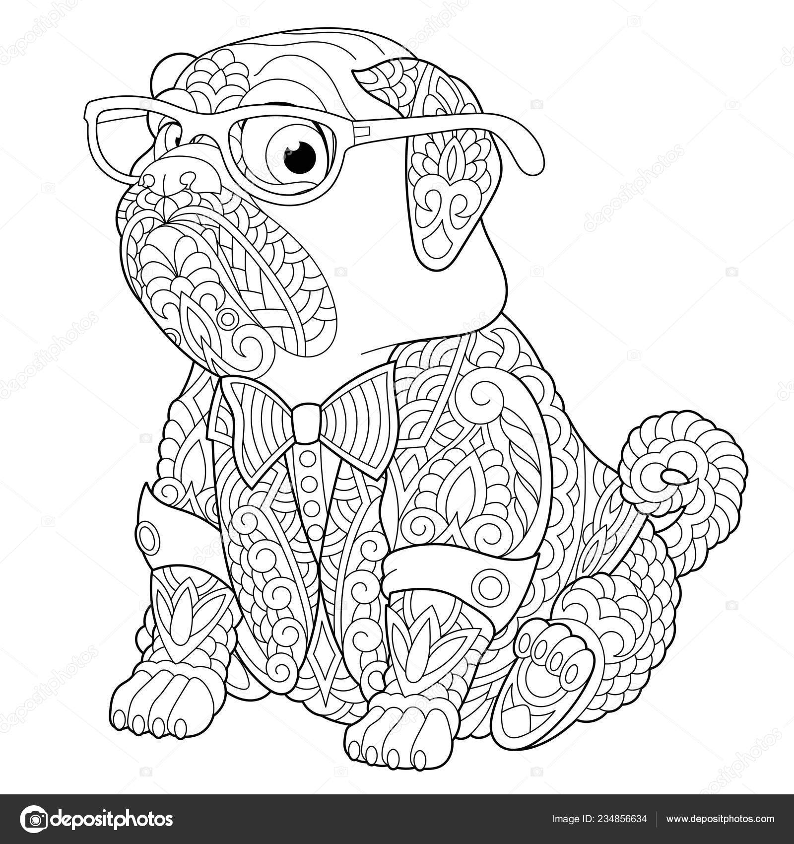 depositphotos stock illustration coloring page stress colouring picture