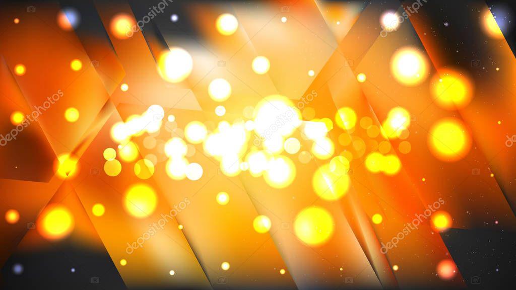 Abstract Orange And Black Bokeh Defocused Lights Background Design Beautiful Elegant Illustration Graphic Art Design Premium Vector In Adobe Illustrator Ai Ai Format Encapsulated Postscript Eps Eps Format