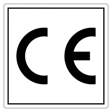 CE Mark Symbol Sign, Vector Illustration, Isolate On White Background Label .EPS10 icon
