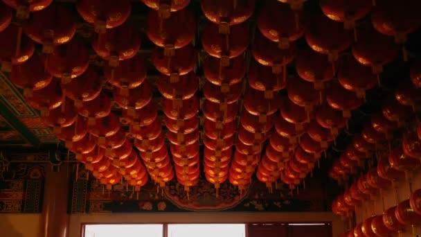 4 k kínai papír lampion, a templomban, az istentisztelet, a kínai újév ünnep