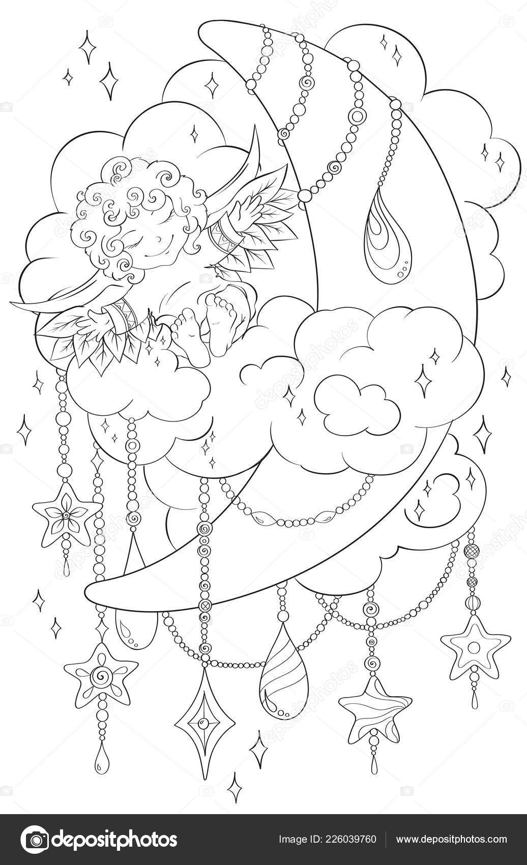 depositphotos stock illustration coloring page for adult kids