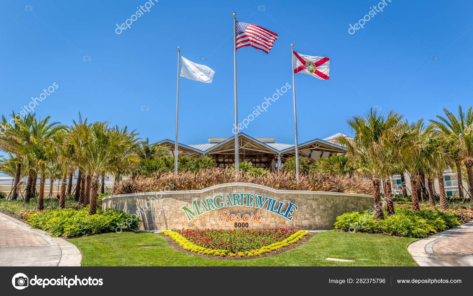 Margaritaville Resort Orlando  The main entrance of the