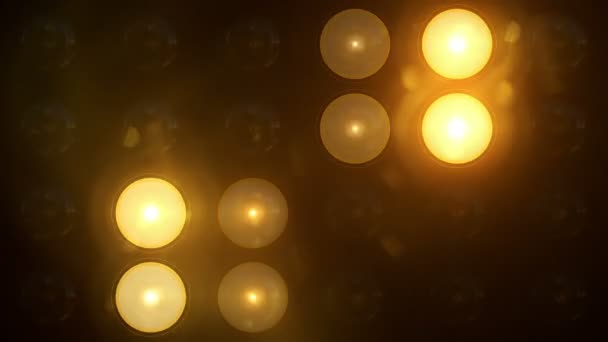 Taschenlampen Muster gelbe Quadrate horizontale Muster