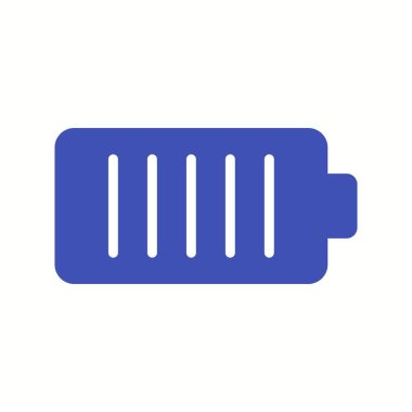 Unique Battery Vector Glyph Icon