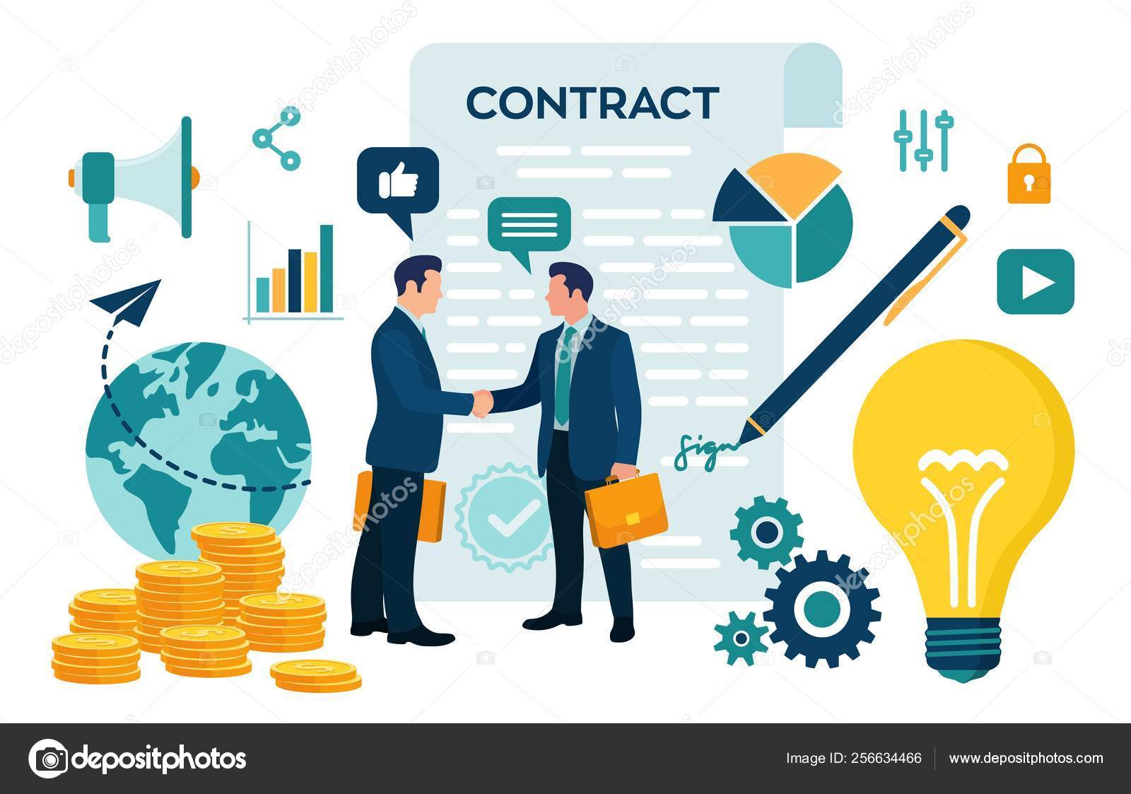 Partnership Concept Financing Of Creative Projects
