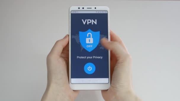 vpn. virtuelles privates Netzwerk. vpn auf dem Smartphone einschalten. Datenverschlüsselung. ip Ersatz. Cybersicherheit und Privatsphäre. Datenschutz. Datenschutz.