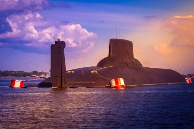 Submarine. Naval forces. Warships.