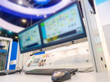 Production Management. Place of work dispatcher. Control over production processes. Enterprise management through the computer.